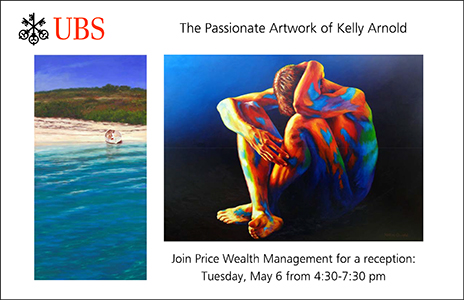 UBS Show of Kelly Arnold's Passionate Artwork